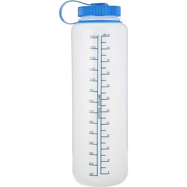 Nalgene Silo 48oz Tritan 11.3 Inches Tall by 3.5 Inches in Diameter