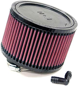 Base; 3.5 in Flange ID; 6 in 152 mm Height; 3.5 in Top K/&N RA-0520 Universal Clamp-On Air Filter: Round Straight; 2.063 in 52 mm 89 mm 89 mm