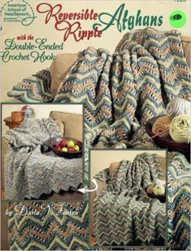 Reversible Ripple Afghans With The Double Ended Crochet Hook Darla