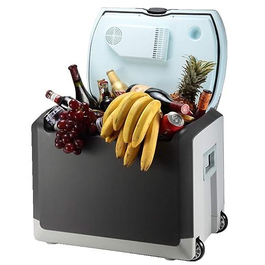 YIWANGO 40L Portátil Refrigerador Fría Caliente Doble Función ...