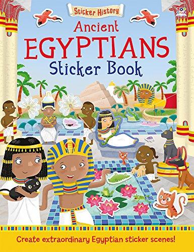 - Ancient Egyptians Sticker Book: Create extraordinary Egyptian sticker scenes! (Sticker History)