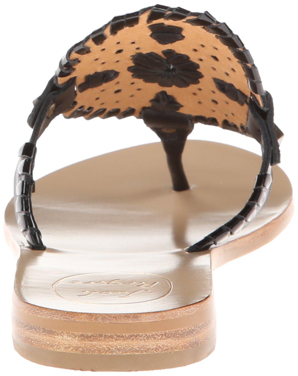Jack Rogers Women's Georgica Sandal,Black/Black Patent,7 M US by Jack Rogers (Image #2)