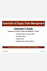 Essentials of Supply Chain Management Instructor Guide Unknown Binding