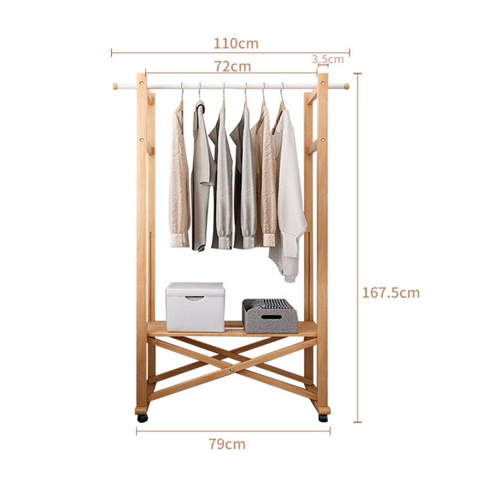 Amazon.com: LIANGJUN Foldable Solid Wood Removable Floor ...
