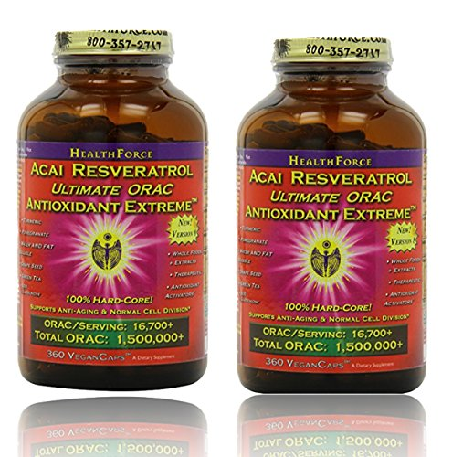 Healthforce Antioxidant Extreme, 360 Vegancaps