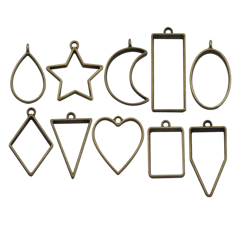 Schmuckherstellung Zubeh/ör f/ür DIY Halskette Armband America Theme Mix Charm Collection-100 g Craft Supplies Charms Anh/änger zum Basteln