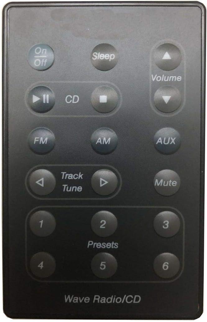 Easy Replacement Remote Control Fit for Bose Radio/CD AWRC-P1 AWRC-1G AWRC-1B 193334-B02 Wave Multi Disc Player