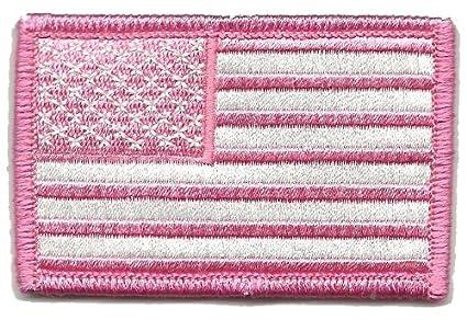 Amazon.com  Tactical USA Flag Patch - Pink  Arts 57505b51245