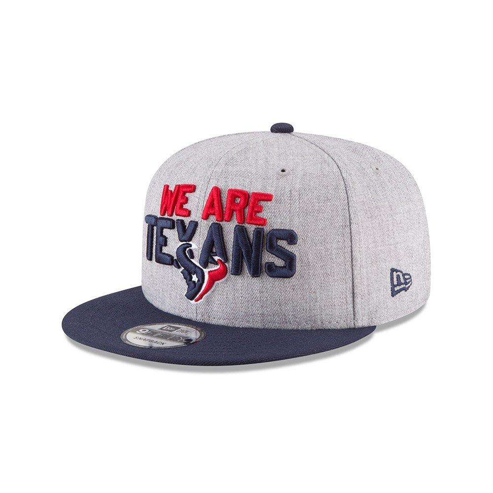 ニューエラ (New Era) スナップバック キャップ - NFL 2018 ドラフト ヒューストンテキサンズ (Houston Texans)   B07C4J3LT2