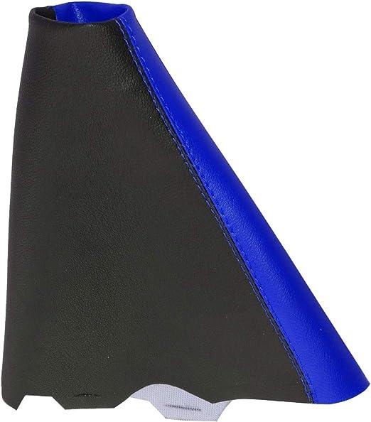 bleu AERZETIX Soufflet de levier de vitesse en simili cuir avec couture//surpiq/ûres couleurs variables