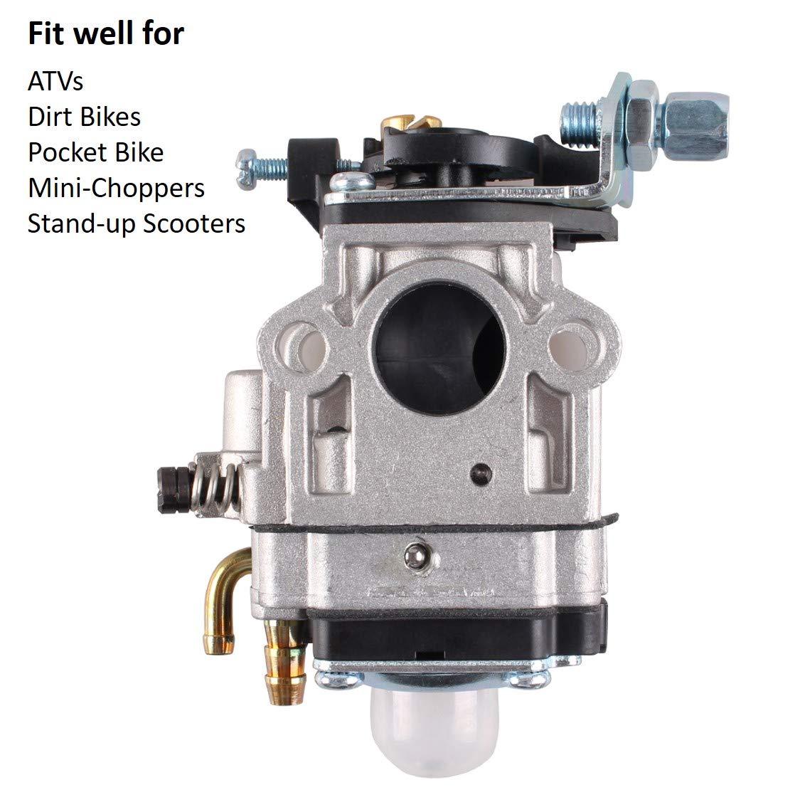 Entrada lateral del carburador Carb 15mm: Amazon.es: Coche y moto