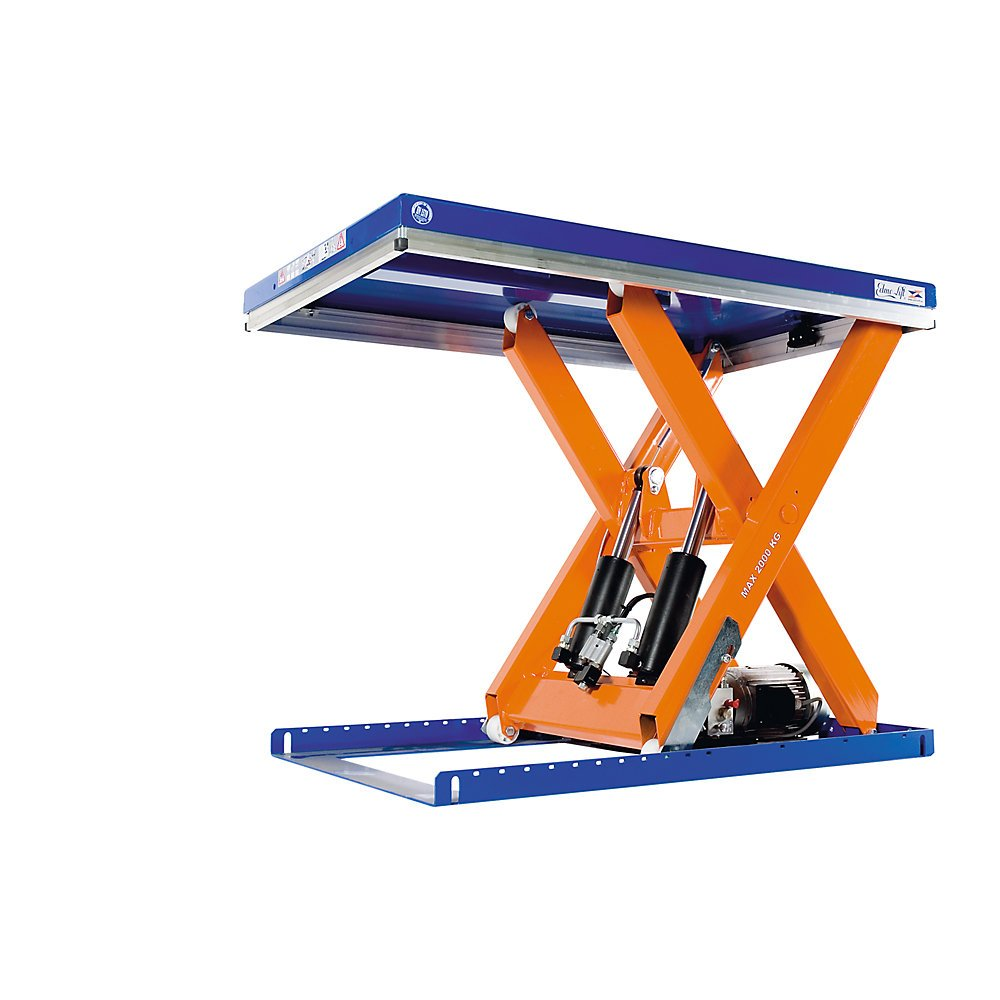 Compact lift table max. load 2000 kg