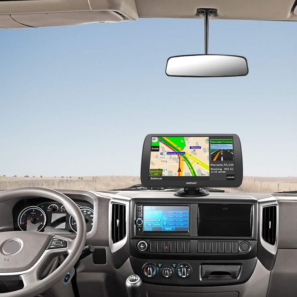 etc. caravanas Camiones Navegador GPS de 9 Pulgadas para Camiones Camiones autobuses