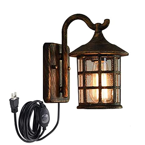 size 40 0a662 a1f93 STGLIGHTING Antique Bronze Wall Lamp Retro Steampunk Vintage ...