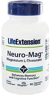 Life Extension - Magnesio L-Threonate de Neuro-Mag - 90 cápsulas vegetarianas