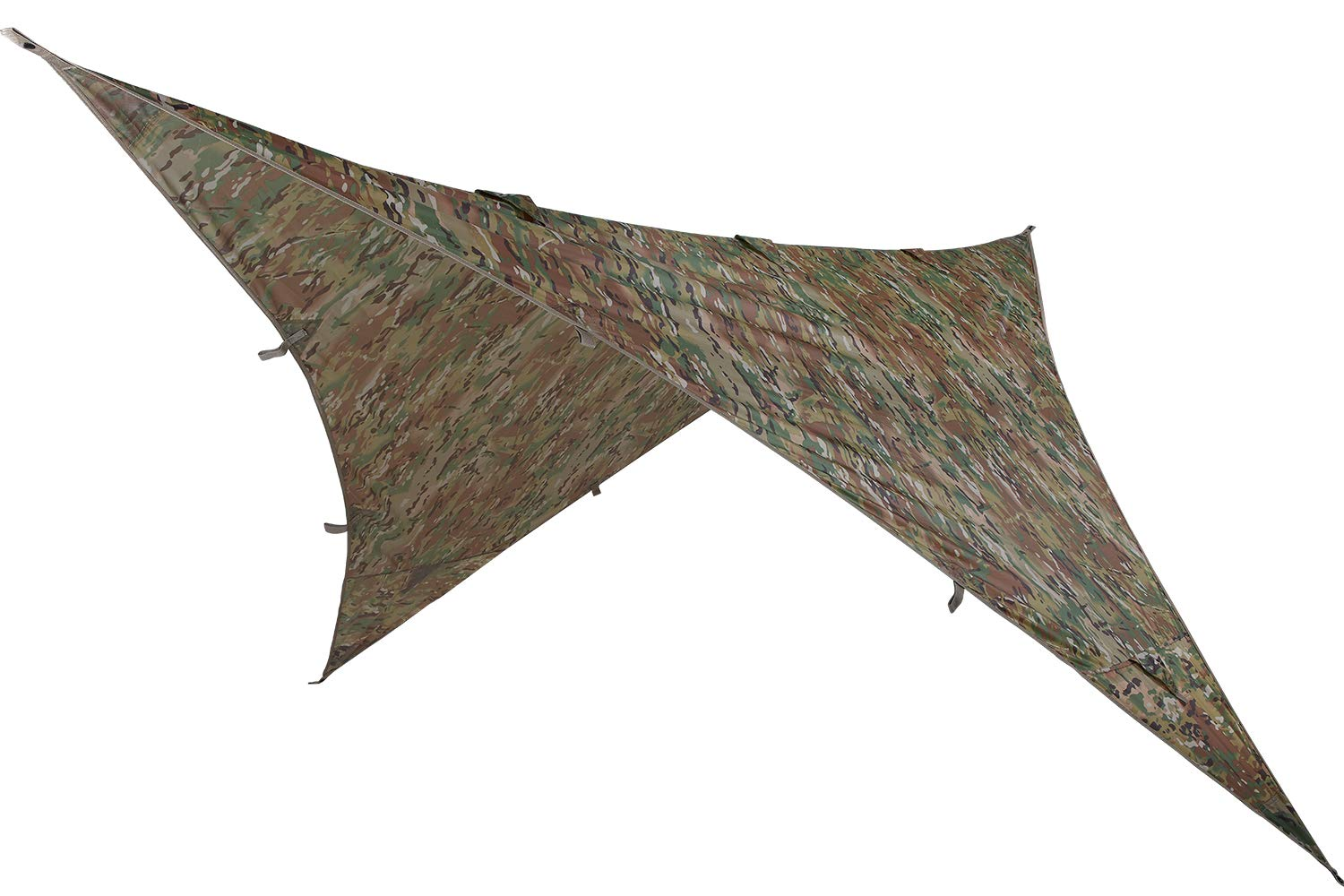 OneTigris Storm Shield Multicam Hammock Tarp, 9ft by 9ft by OneTigris
