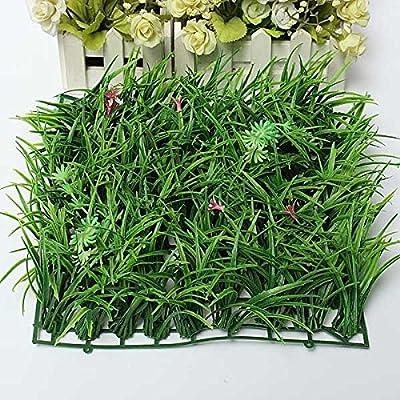 Artificial Green Grass Plastic Lawn Garden Decoration