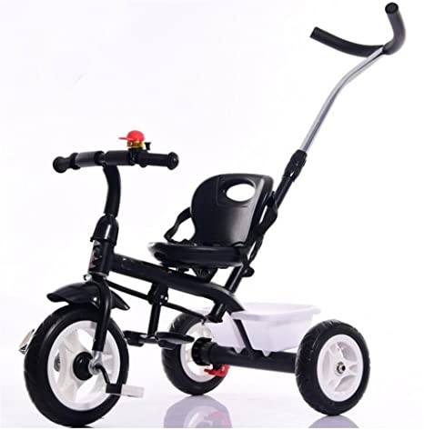 FFJTS Carro De Bebé Triciclo Bicicleta 1-6 Años Cochecito De Bebé Rueda Inflable Del