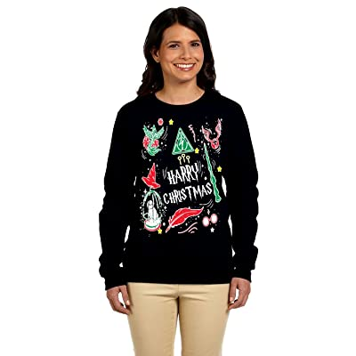 12.99 Prime Tees Womens Harry Christmas Potter Ugly Christmas Sweater