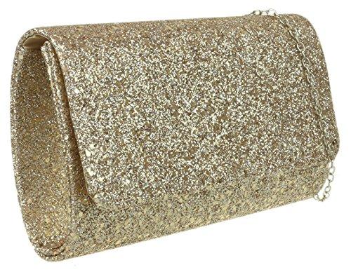 Clutch Bag Girly HandBags Girly Champagne Glitzy Bag Clutch HandBags Glitzy Champagne Girly 1CqwzC