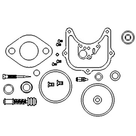 Amazon Com A I Products Carburetor Kit Complete Holley 1965