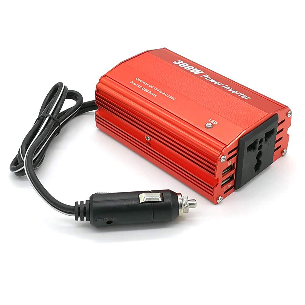 D&F Inversor De Coche 200W 12V A 220V Encendedor Giro Enchufe ...