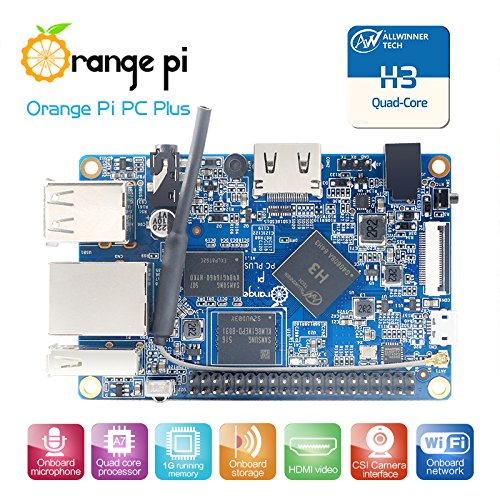 Orange Pi PC Plus Single Board Computer - Quad Core 1.3GHz ARMv7 1GB DDR3 8GB eMMC Storage by Orange Pi (Image #2)