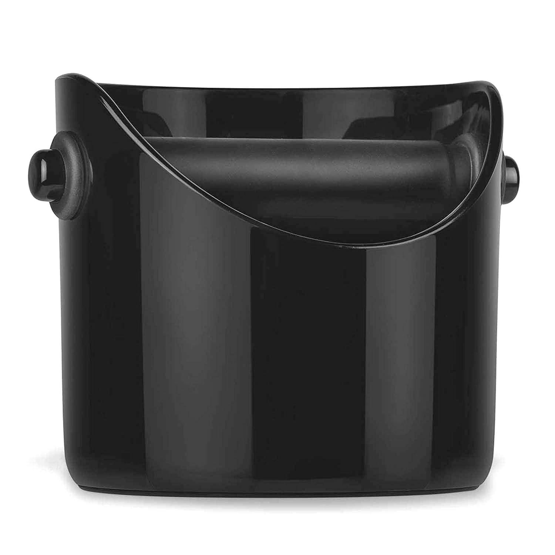 Paytion Grind Knock Box - Cubo de Basura para café, Color Negro ...