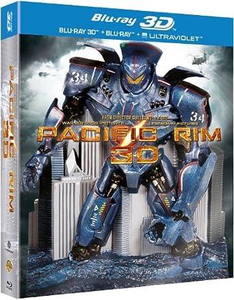 Pacific Rim - 3-Disc Box Set & Molded Robot Statue 3D & 2D + ...