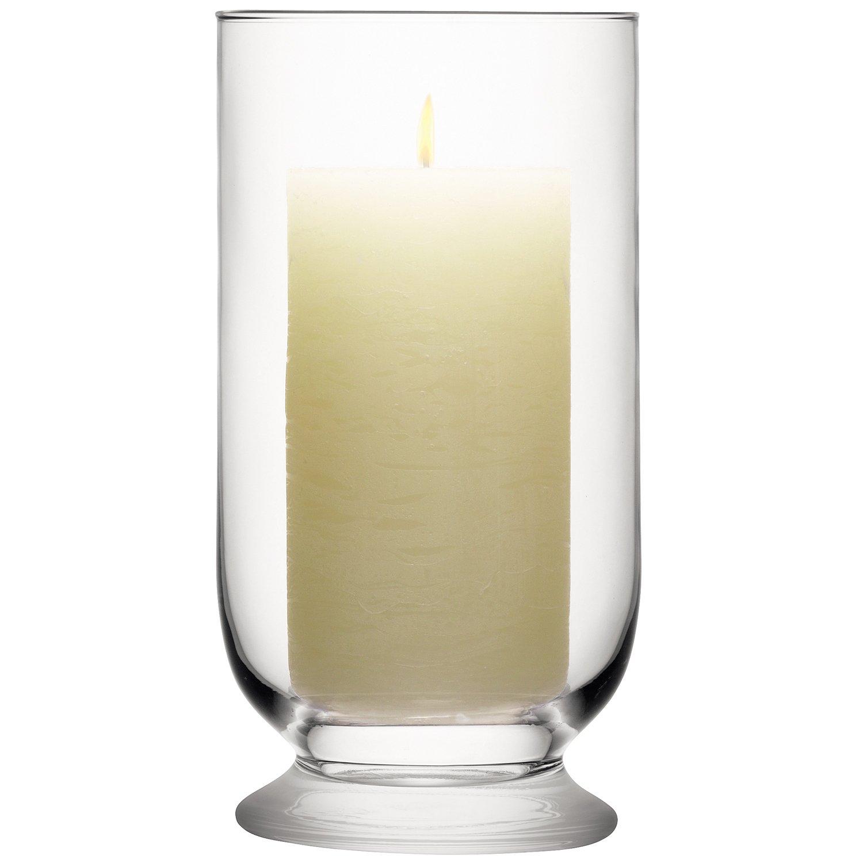 LSA International Lanterne tempête pour terrasse Transparent, claire, 23 cm G700-23-301