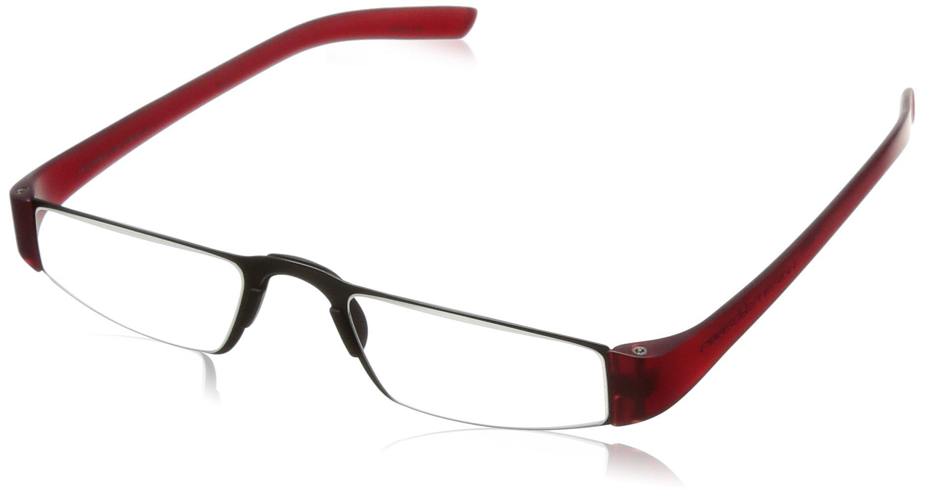 Porsche Designs Readers P8801 B +2.00 Red 48 20 150