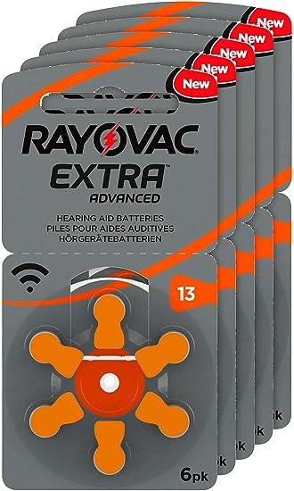 Rayovac Hörgeräte Batterien 13 Extra Advanced 1 45v 310 Elektronik