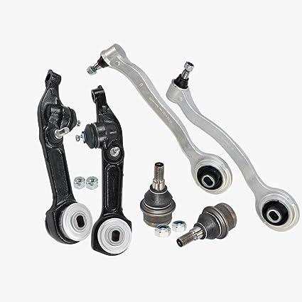 6pcs Front Lower Control Arm Ball Joint Lt /& Rt Kit Mercedes Premium W220