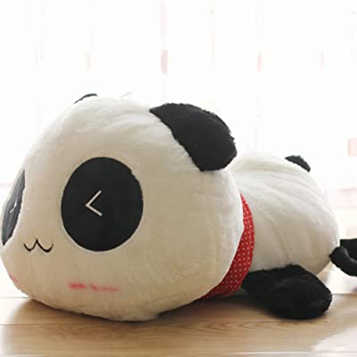Finance Plan Kawaii Cute Plush Doll Toy Animal Giant Panda Pillow Soft Stuffed Bolster Gift: Toys & Games