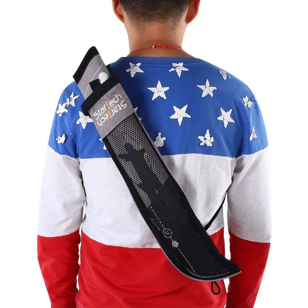 portatil de Flecha Takedown Bow Quiver Tiro con Arco Flecha Volver Correa Correa Bolso Bandolera Tiro con Arco Flecha carcaj