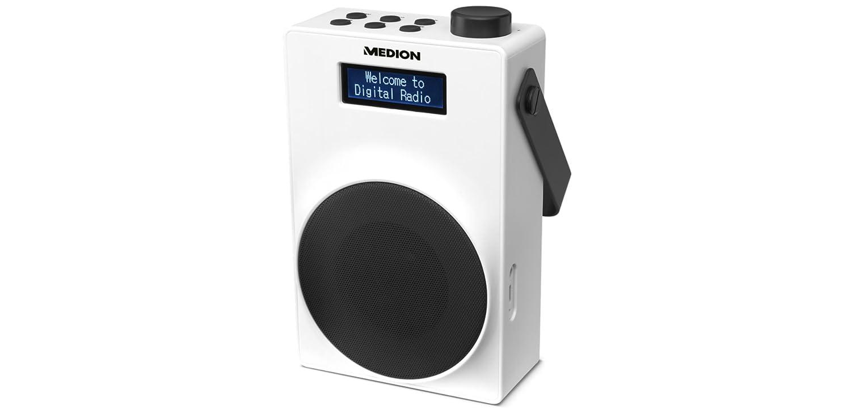 MEDION E66880 DAB+ Radio (PLL UKW, 1,8 Zoll Display, Akku ...