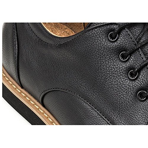 Ahimsa Mens Vegan William Oxford-Vegan Leather GTMSrRaU