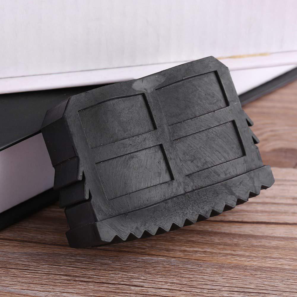 Antideslizante Pies de Escalera Buen Agarre Desgaste Seguro Durable Acogedor Pies de Escalera de Goma para Escalera de Aluminio del Hogar Pies de Escalera Antideslizante