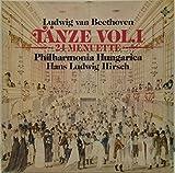 BEETHOVEN 24 MINUETS WoO 7 9 10 Hans Ludwig Hirsch Philharmonia Hungarica TELEFUNKEN 641935 LP RECORD