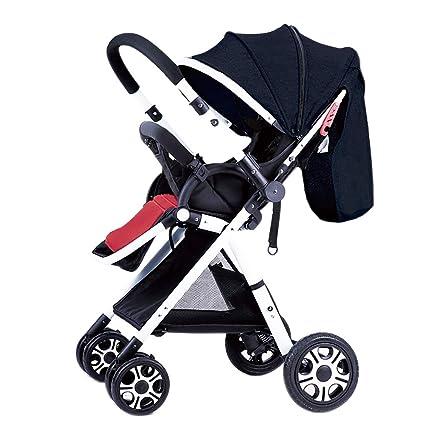 Guo@ High Landscape Baby Stroller Handle Reversible Infants ...