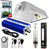 Cheap Yield Lab Horticulture 600w HPS Grow Light Cool Hood Reflector Kit Easy Setup Full Spectrum System For Indoor Plants And Hydroponics – Free Timer and 12 Week Grow Guide DVD