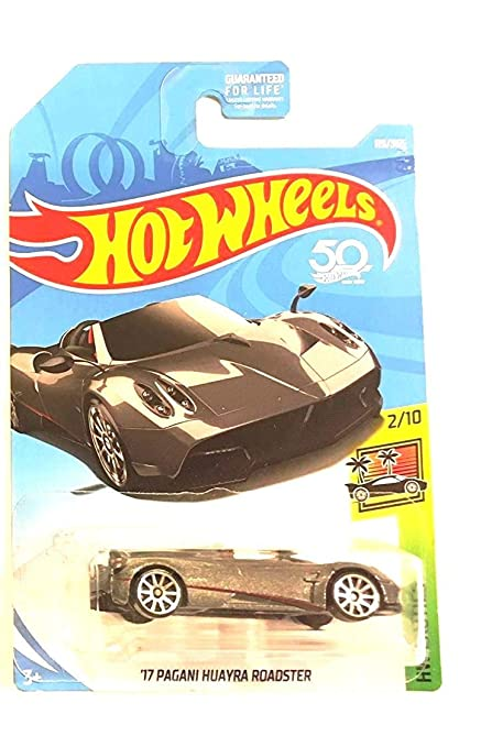 Buy Hot Wheels 2018 50th Anniversary Hw Exotics 17 Pagani Huayra