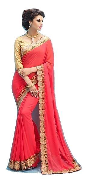 Jay Sarees Bollywood Wedding Bridal Designer Saree Amazon