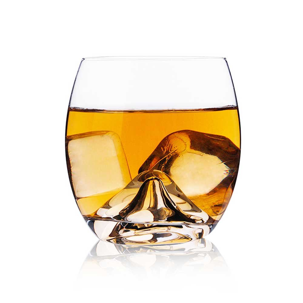 Whiskey Glass,Old Fashion Ultra Clear Cigar Glass for Drinking Scotch, Bourbon, Irish Whisky, Cognac, Tequila or Liquor 15 OZ (350ml)