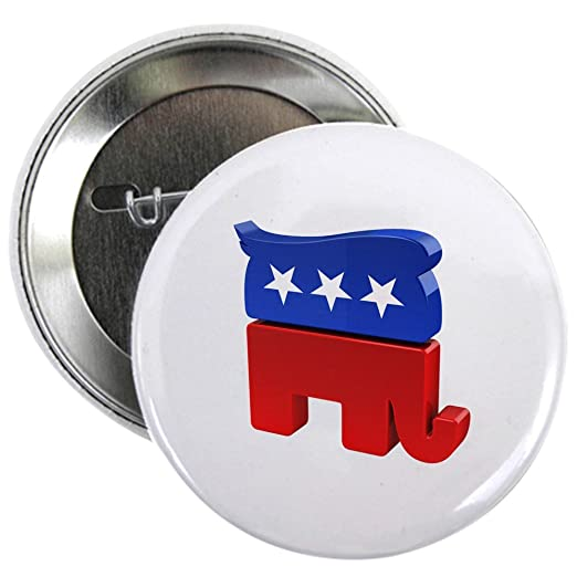 383c68d7a Image Unavailable. Image not available for. Color  CafePress Republican  Elephant ...