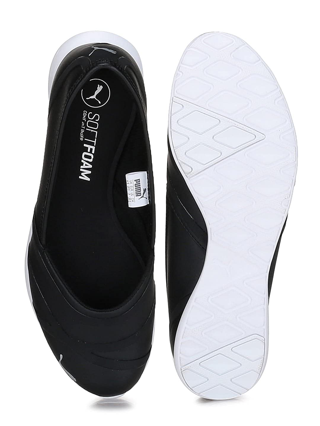 c1afc3671c6 Puma Women s Vega Sl Idp Ballet Flats  Buy Online at Low Prices in India -  Amazon.in
