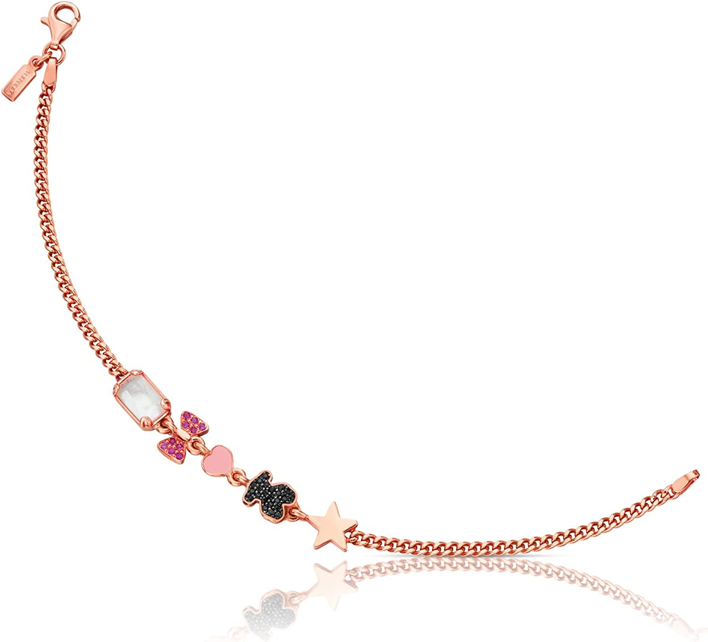 TOUS Pulsera cadena Mujer plata vermeil - 512791510