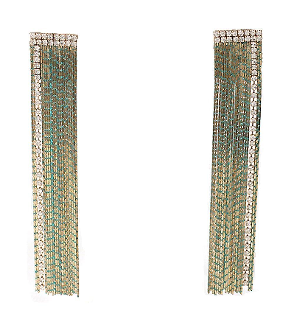 oz-oz Girls Womens Handmade Gubic Long Earrings
