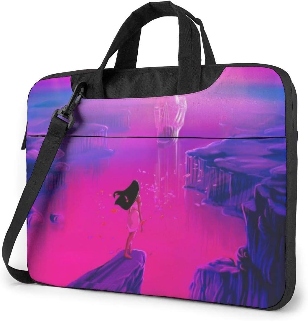 Laptop Bag Pocahontas Laptop Messenger Bag, Laptop Shoulder Bags with Adjustable Strap Business Handbags 14 inch