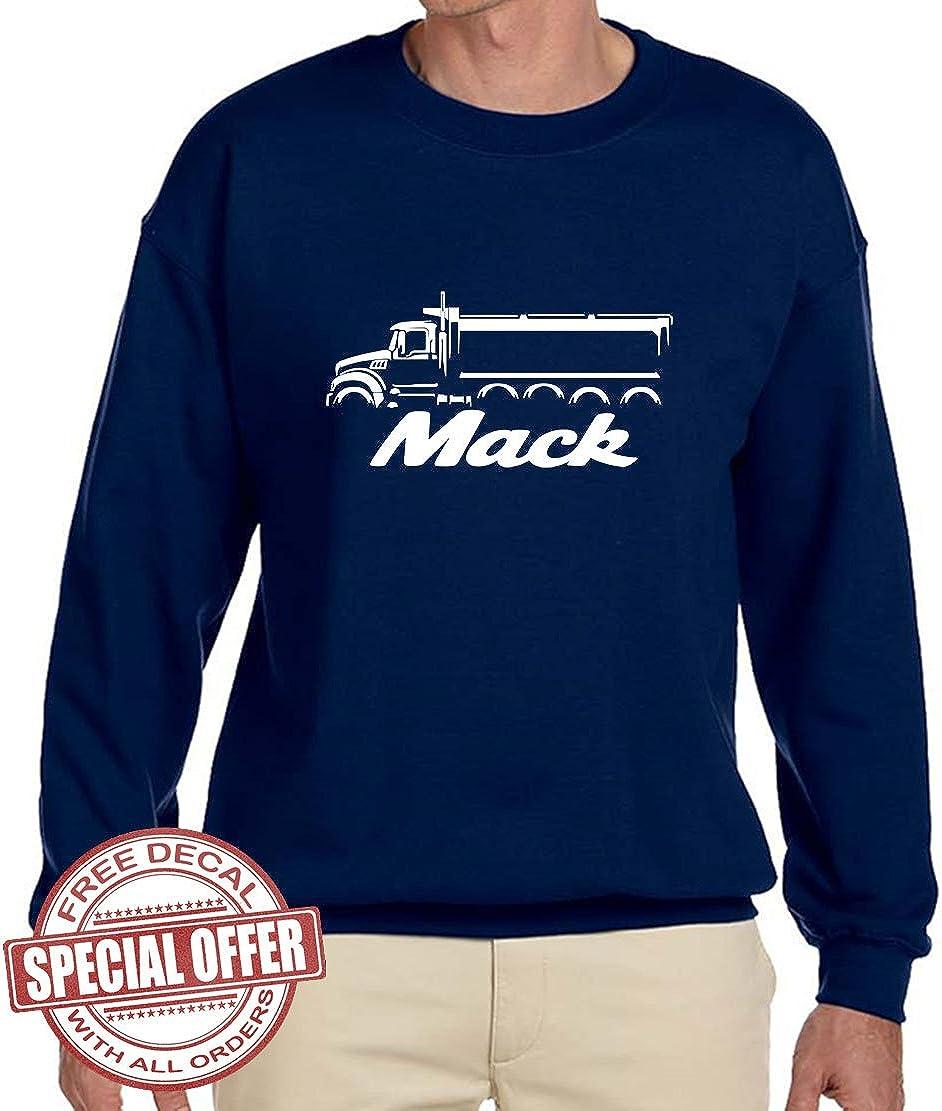 Mack Dump Truck Classic Design Tshirt NEW
